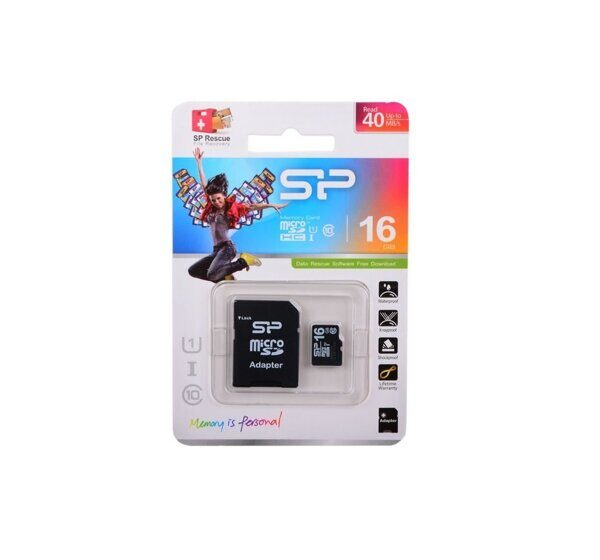Карта памяти Silicon Power microSDHC 16 Gb